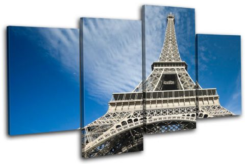 Paris Eiffel Tower Architecture - 13-0940(00B)-MP04-LO